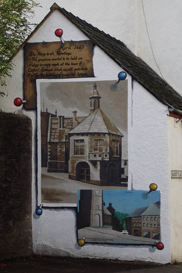 coleford town hall mural by tom Cousins