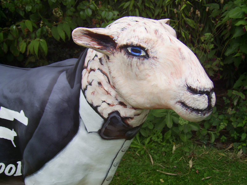 james baand fibreglass sheep